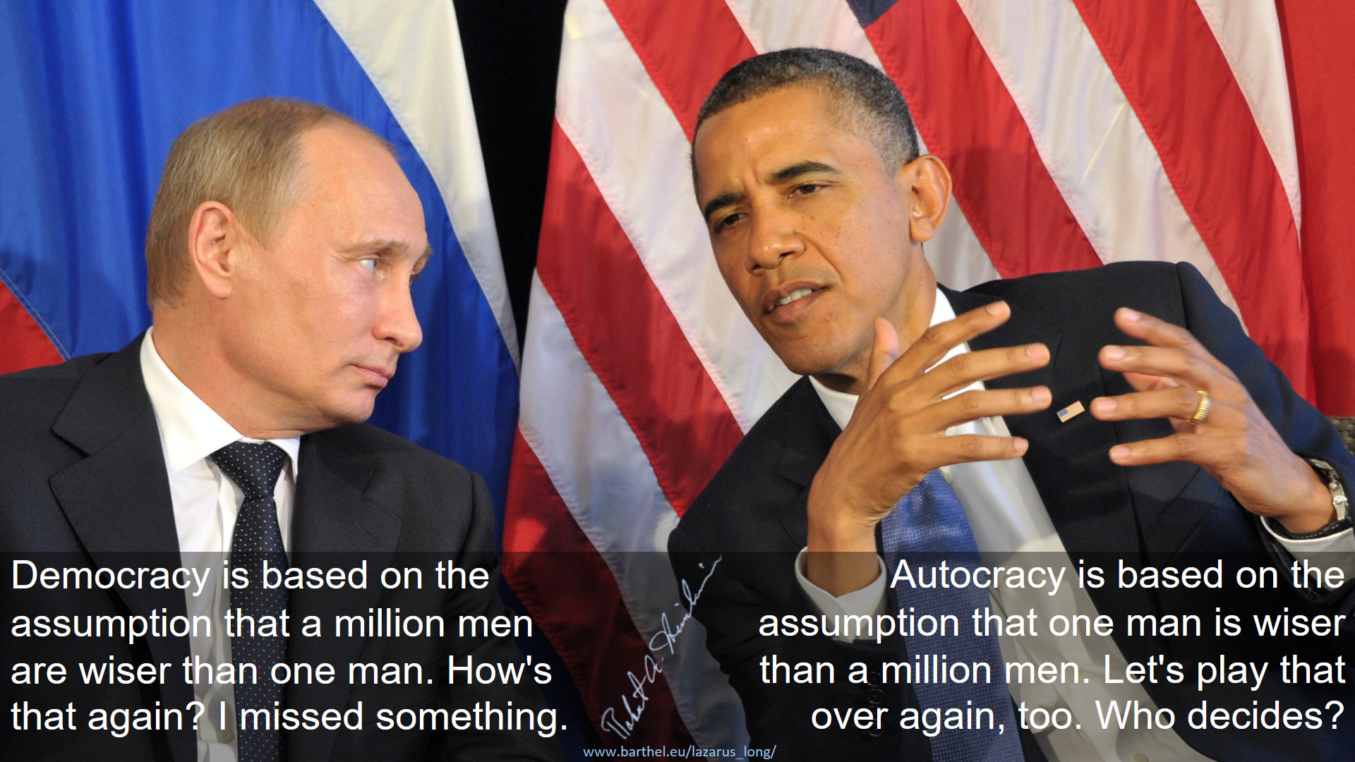 Democracy vs. Autocracy