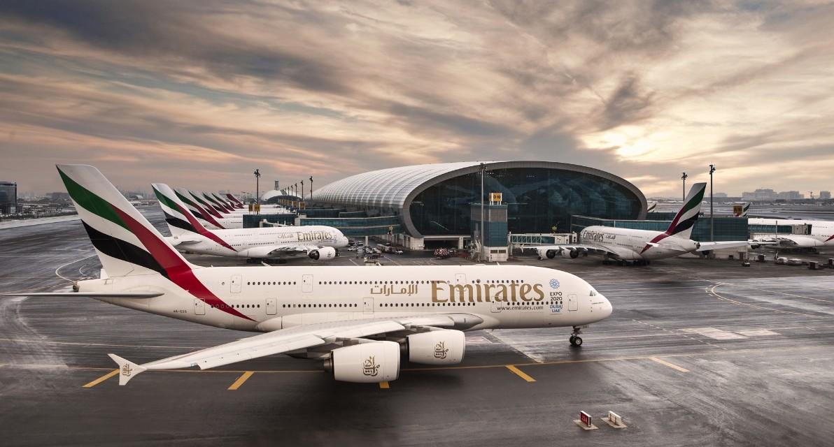 Emirates A380 Hub Dubai