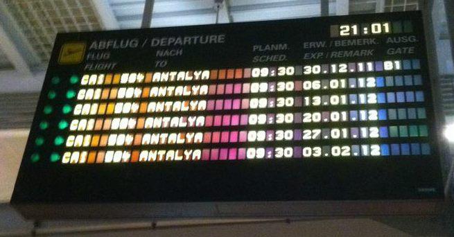 No Flights (Erfurt, 2011)