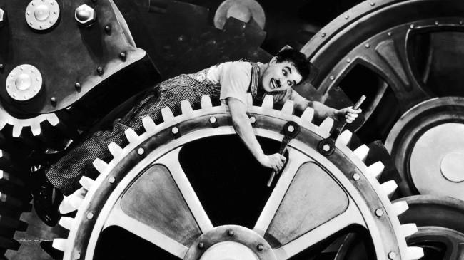 Cogwheel (Charlie Chaplin in the Machine)
