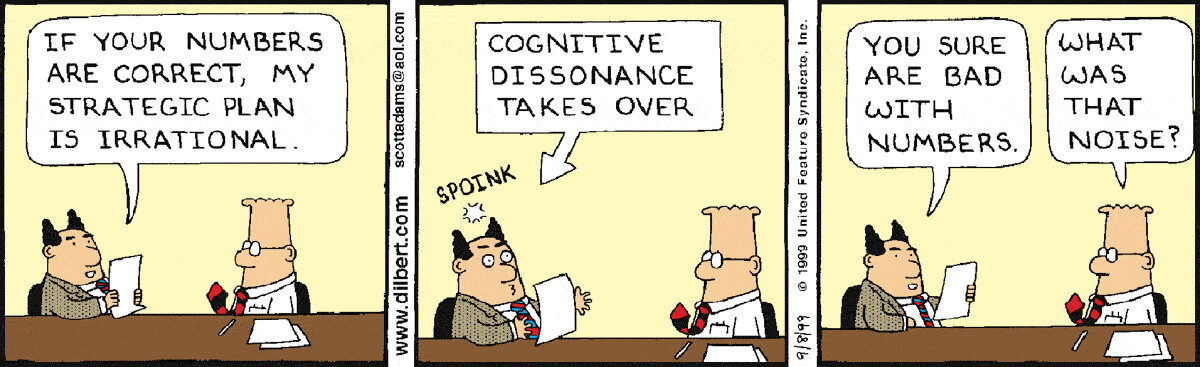 Cognitive Dissonance Resolution