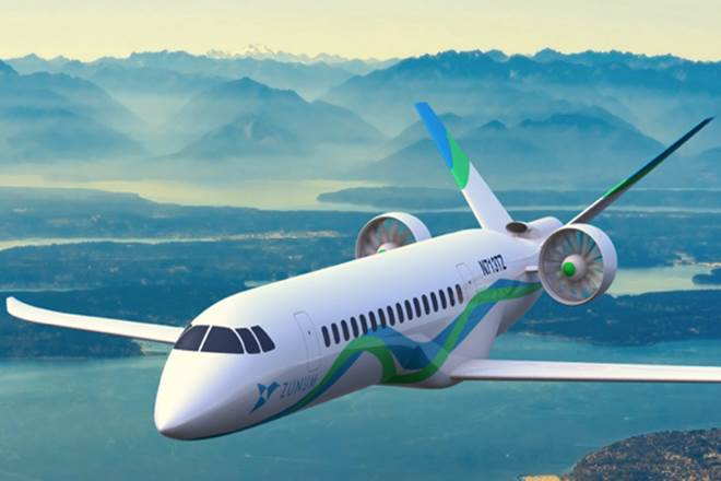 Zunum 50 seat electric plane