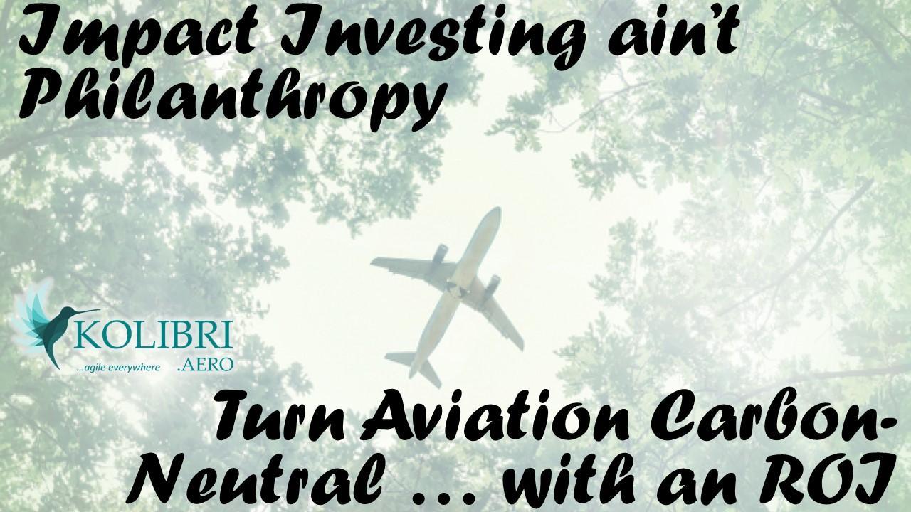 Kolibri - disrupt aviation