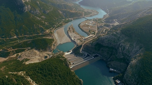 Koman Hydroelectric Power Plant