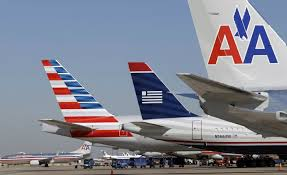 American (new) - US Airways - American (traditional)