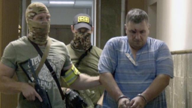 Saboteur or patsy? The Russian Security Service parades 'captured' Ukranian Yevgeny Panov
