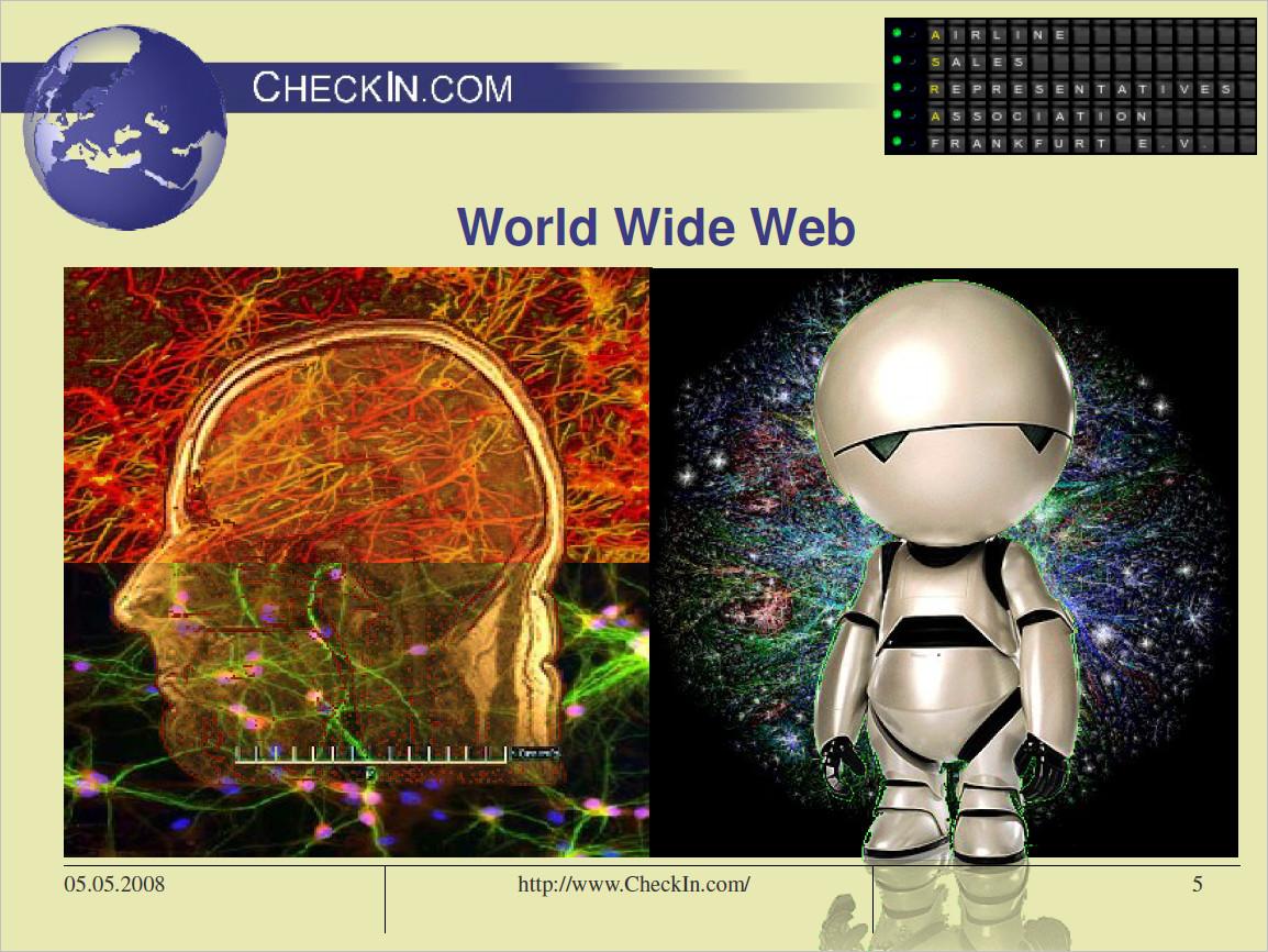 ASRA 2008 brain nodes vs. WWW => AI