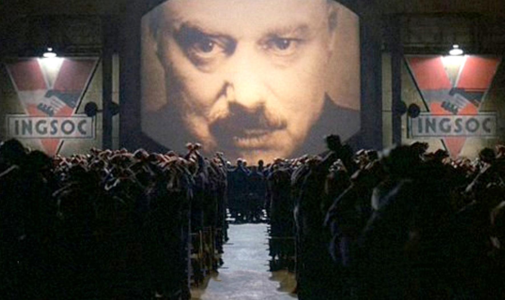 George Orwell 1984, NSA 2013