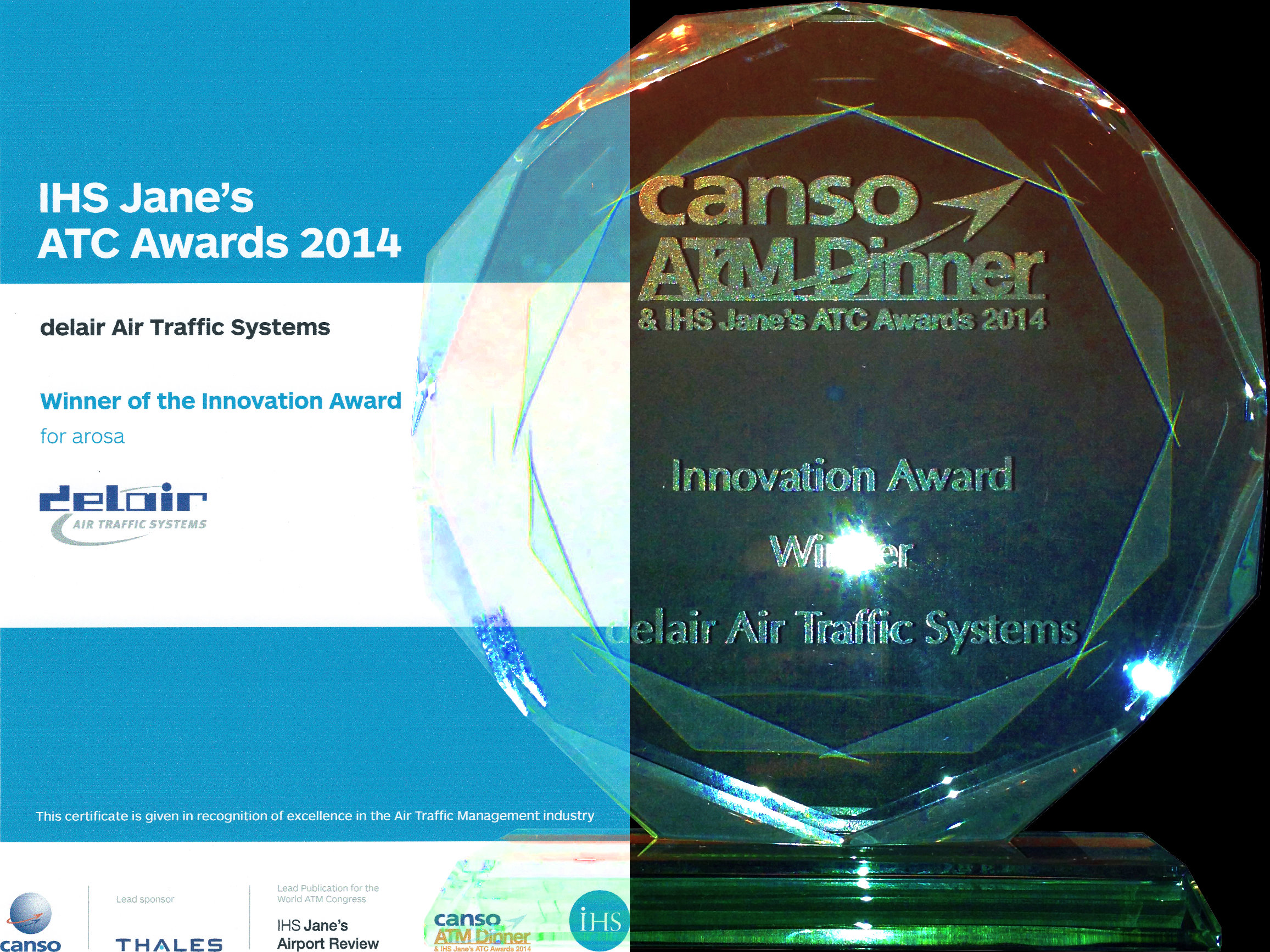 IHS Jane's ATC Innovation Award 2014