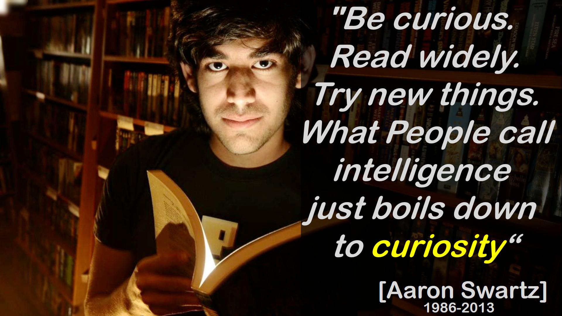 Aaron Swartz - Curiosity