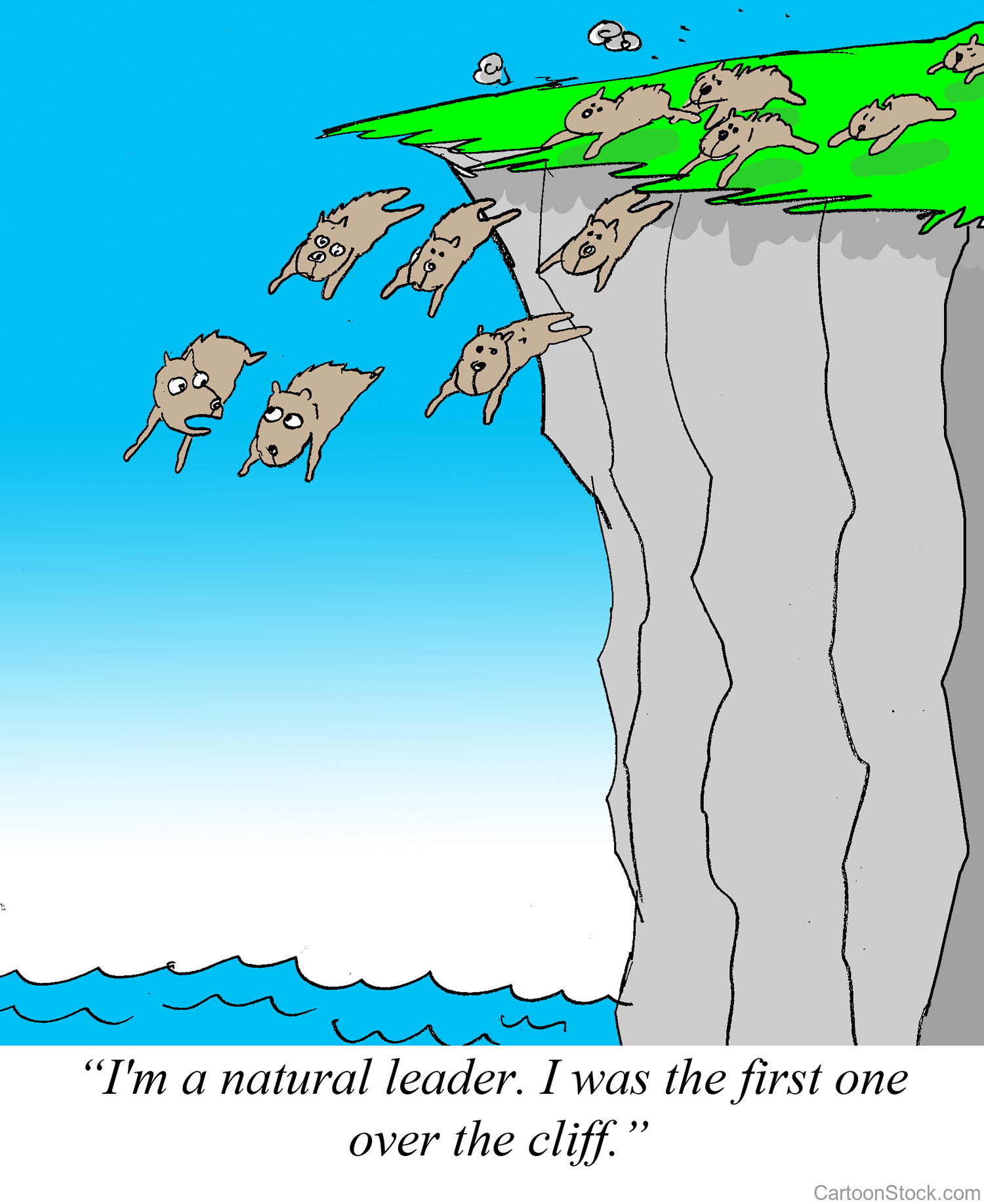 Natural Leader Lemmings