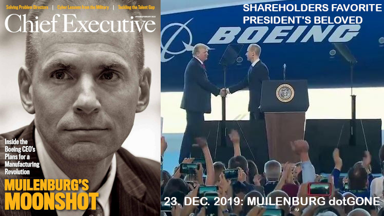 The Rise and Fall of Dennis Muilenburg