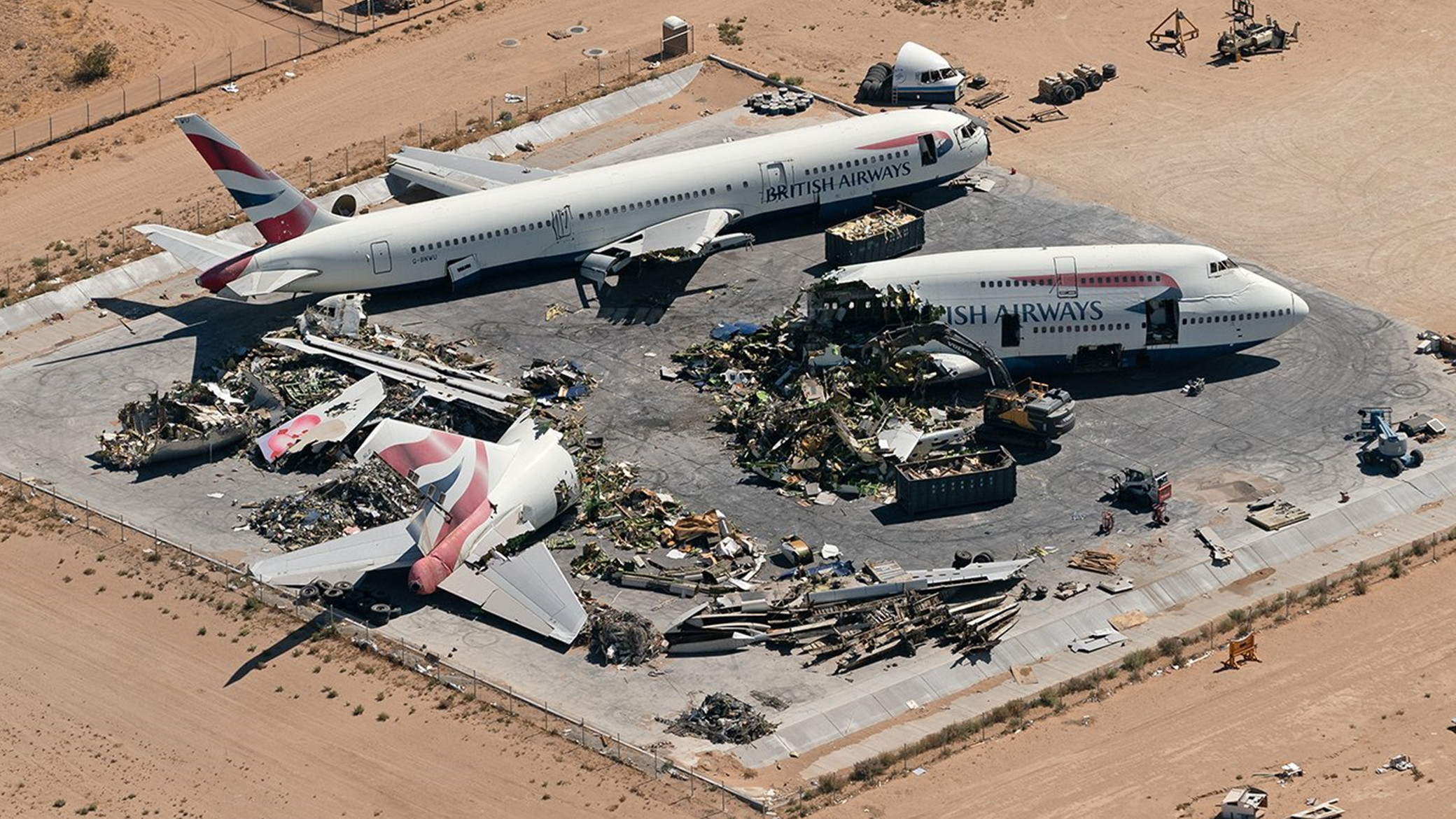 Scrapping Boeing 747-400
