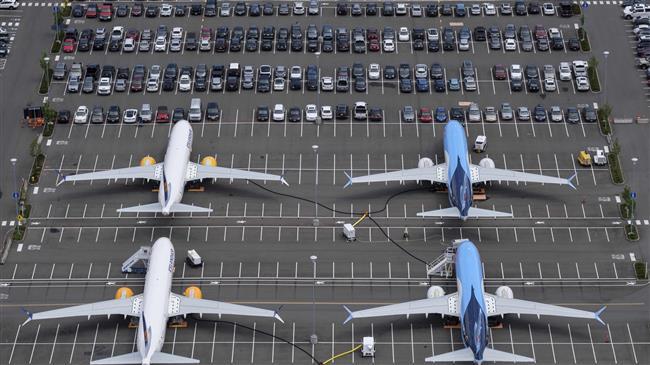 B737MAX Parking Lot