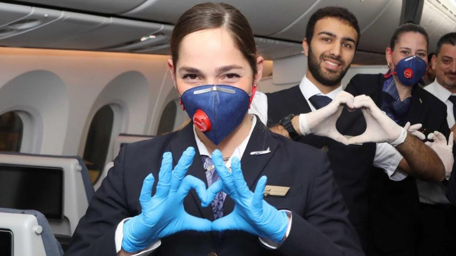 Cabin Crew FFP2+Gloves