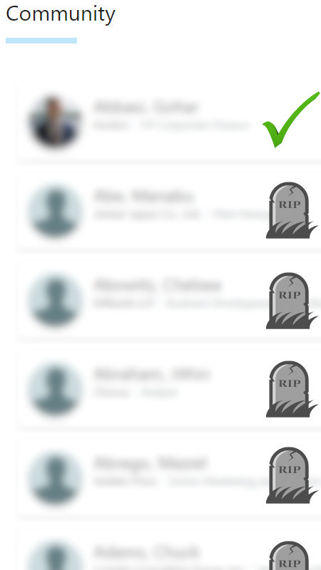 Zombie Users